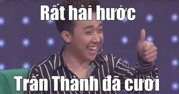 Rất hài hước, Trấn Thành đã cười và like