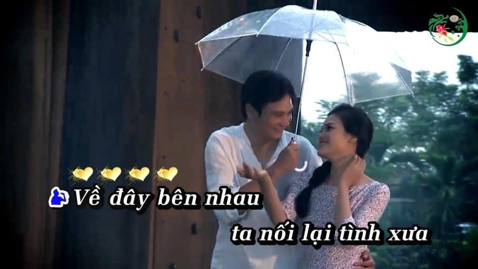 Về đây bên nhau ta nối lại tình xưa - Đi cùng nhau dưới ô ngắm mưa