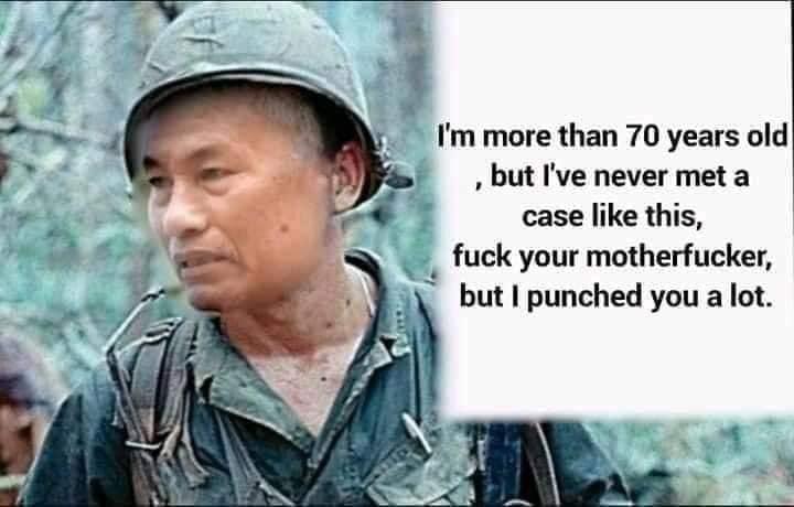Ông Nguyễn Hữu Đa nói tiếng Anh