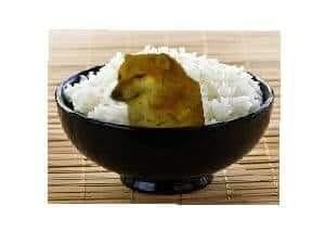 Hình ảnh bát cơm chó hay còn gọi là cẩu lương