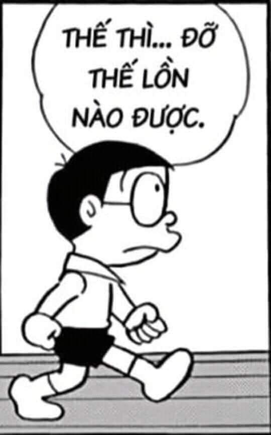 Nobita nói thế thì đỡ thế lon nào được