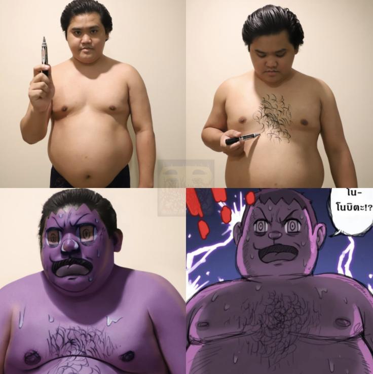 Cosplay Jaian khóc phiên bản Thái Lan