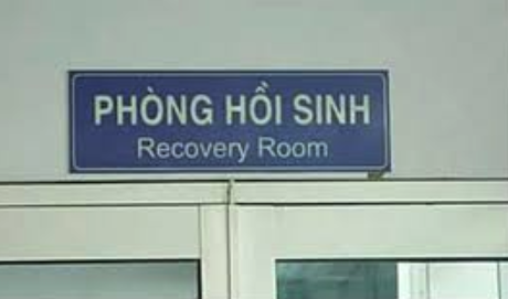 Phòng hồi sinh - recovery room
