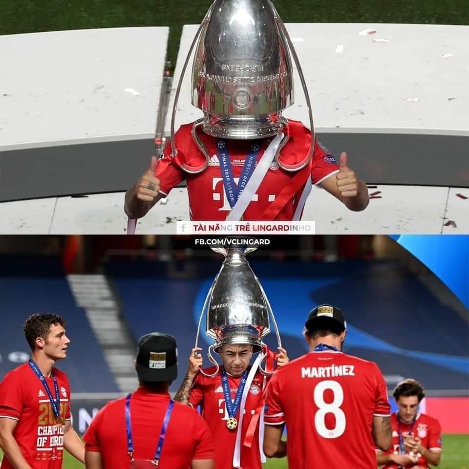 Tài năng trẻ Lingardinho vô địch Champions League