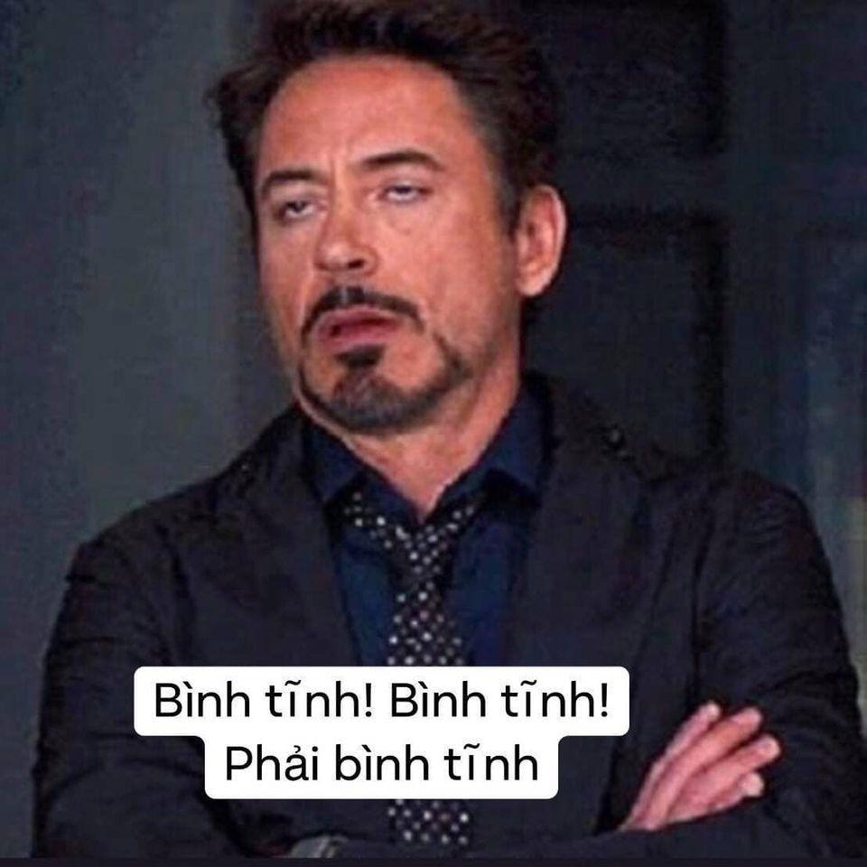 Bình tĩnh, phải bình tĩnh - Người Sắt Iron Man