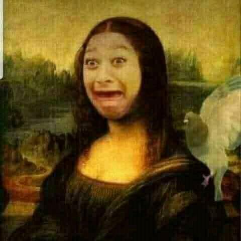Nàng Mona Lisa có khuôn mặt khóc thét