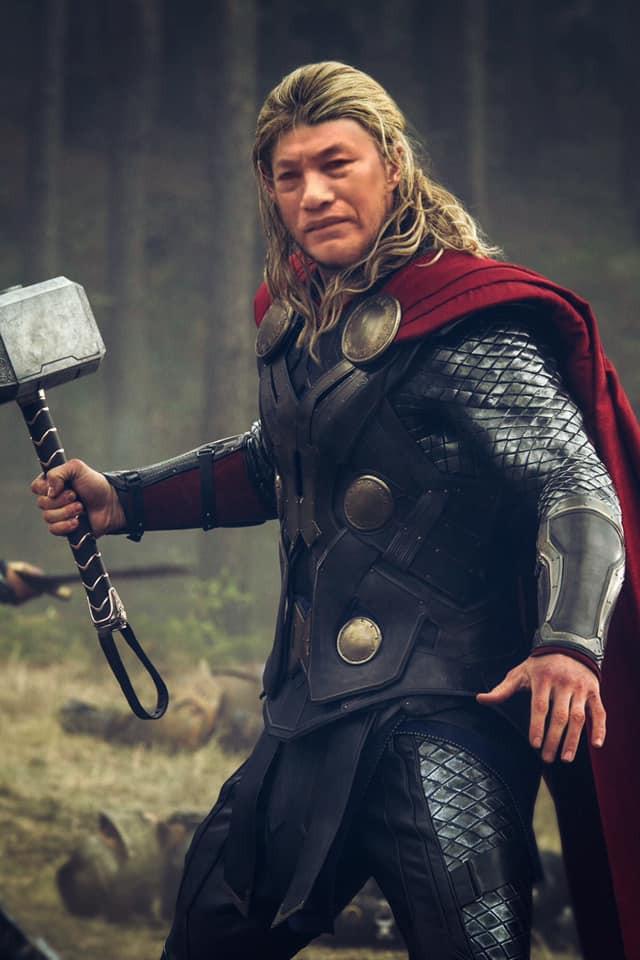 Thần sấm Đa Thor - Phải tôi tôi cho một búa