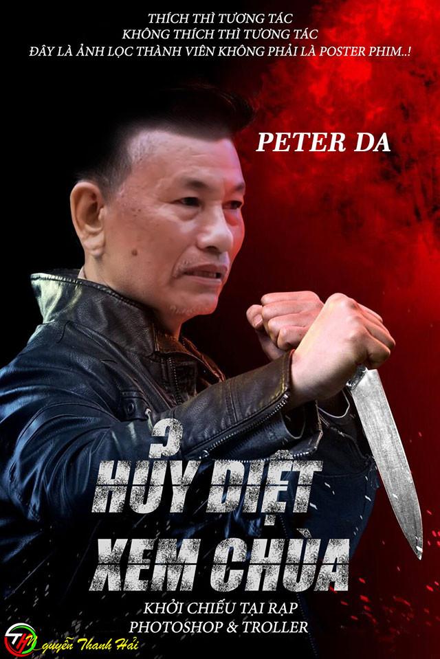 Poster phim Huỷ diệt xem chùa - Peter Đa