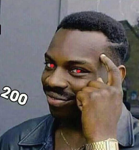 IQ 200 (IQ vô cực) - anh da đen chỉ tay lên đầu mắt sáng rực