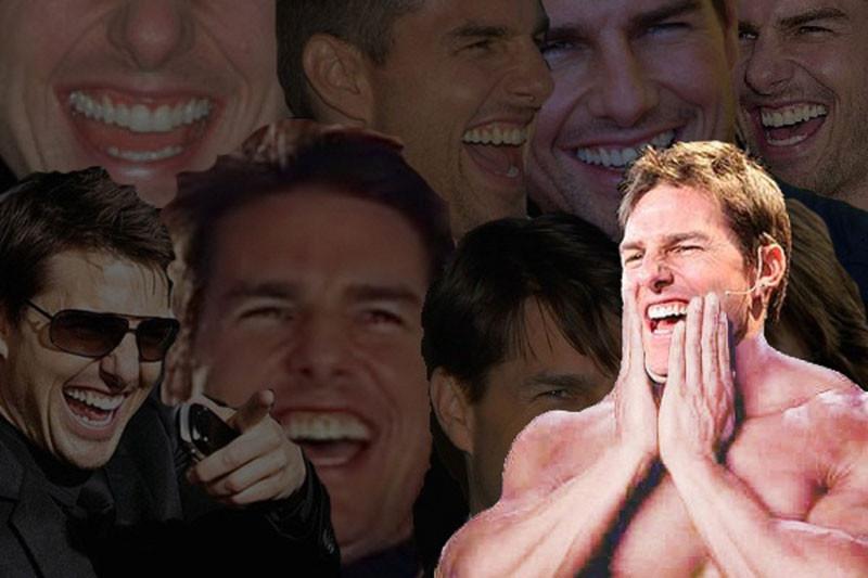 Hình ảnh nhiều Tom Cruise cười comment facebook