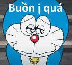 Buồn ị quá - Doraemon mắt long lanh