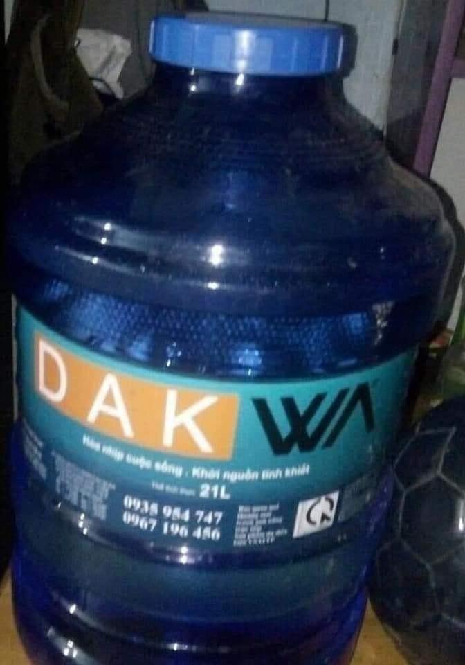Bình nước Dak Wa - Dark quá