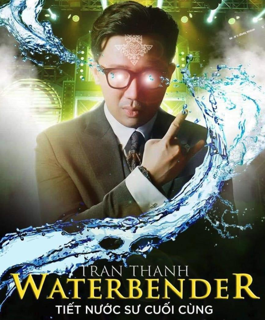 Poster phim Trấn Thành Waterbender - Tiết nước sư cuối cùng