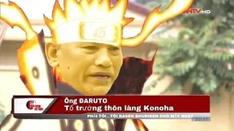 Ông Đaruto, tổ trưởng thôn làng Konoha