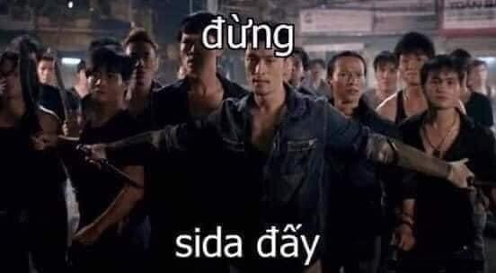 Johnny Trí Nguyễn dang tay cản lại nói đừng, sida đấy