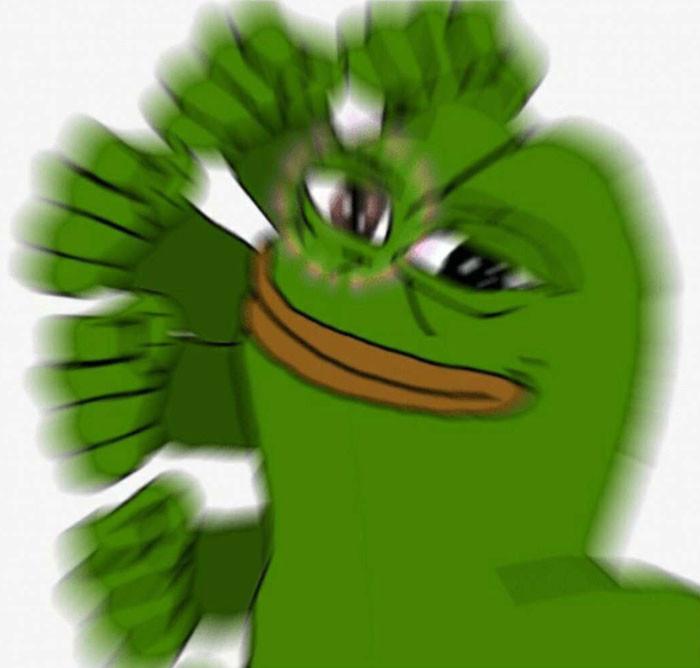 Ếch xanh Pepe tung liên hoàn đấm