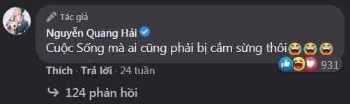 Nguyễn Quang Hải nói cuộc sống mà ai cũng bị cắm sừng thôi
