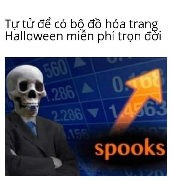 Tự tử để có bộ đồ hóa trang Halloween trọn đời