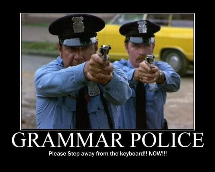 Cảnh sát chính tả phiên bản tiếng Anh