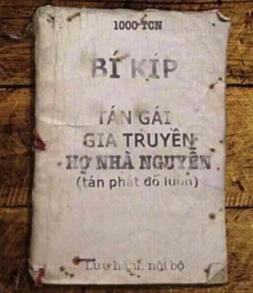 Sách bí kíp tán gái gia truyền nhà họ Nguyễn
