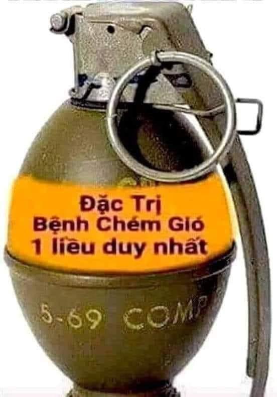 Quả lựu đạn đặc trị bệnh chém gió 1 liều duy nhất