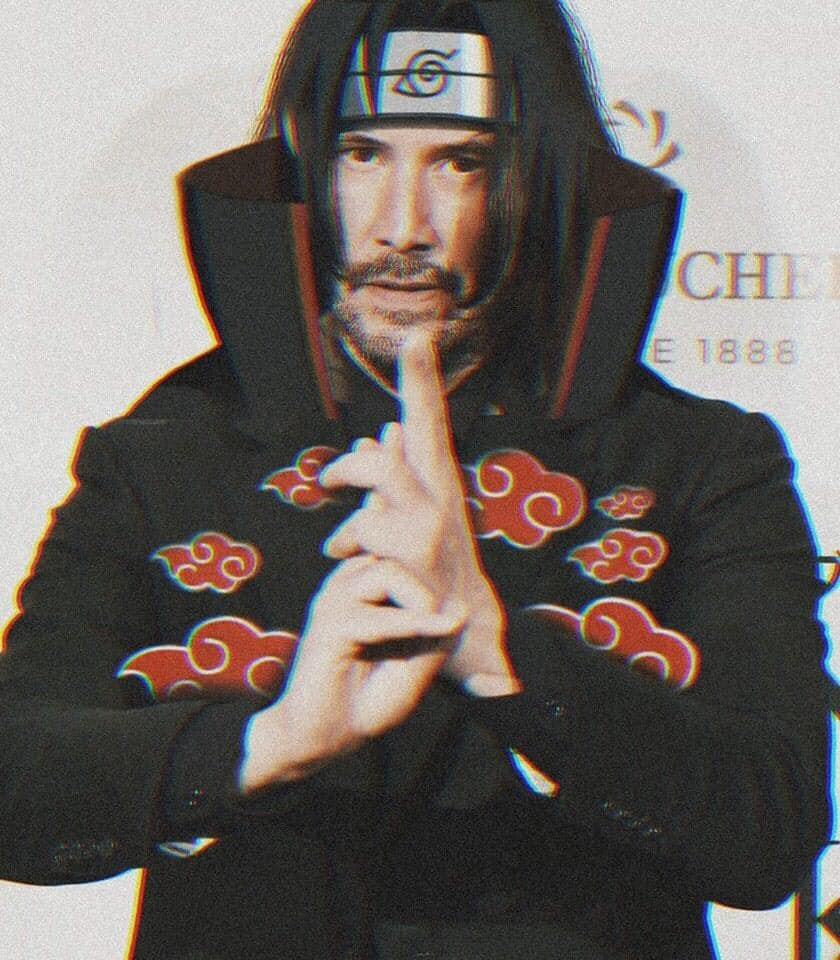 John Wick hóa thân thành Uchiha Sasuke