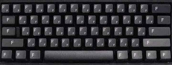 Bàn phím máy tính toàn phím F