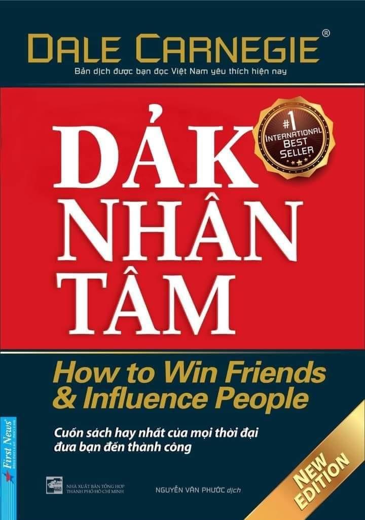 Cuốn sách Dảk Nhân Tâm (Dark Nhân Tâm)