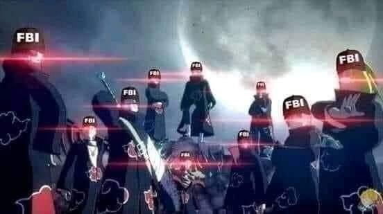 Rất nhiều đặc vụ FBI mắt sáng rực đang theo dõi bạn