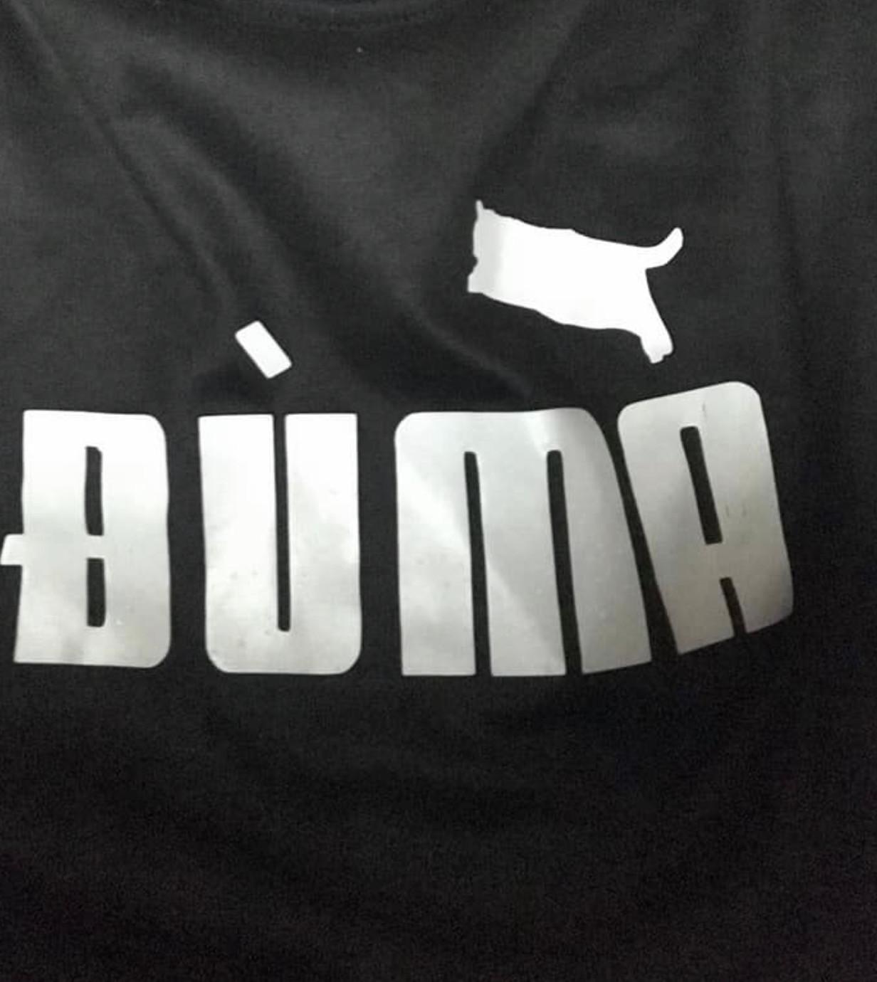 Áo có logo Đù Ma (áo Duma)