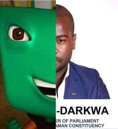 Hình ảnh ghép Adu và Darkwa thành Adu-Darkwa