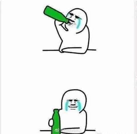 Cầm chai rượu tu rồi khóc như mưa