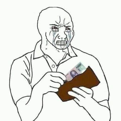 Vừa khóc vừ móc ví lấy 500k