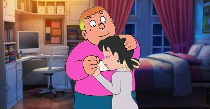 Chaien ôm Xuka vào lòng