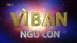 Logo chương trình Vì bạn Ngu Lôn