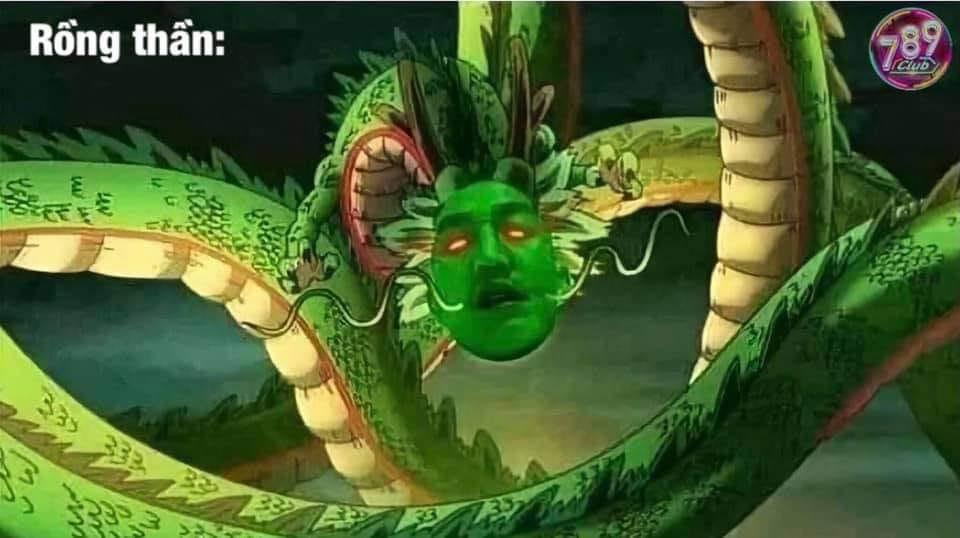 Rồng thần có khuôn mặt Huấn Hoa Hồng
