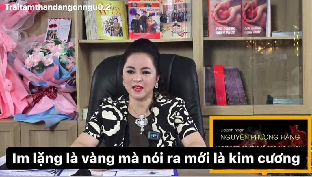 Cô Phương Hằng: Im lặng là vàng mà nói ra mới là kim cương